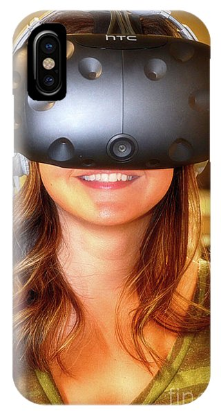 iPhone Case - Virtual Reality The New Reality by Bob Christopher