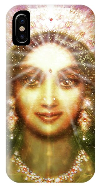 Vision Of The Goddess - Light IPhone Case