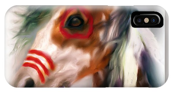Visionary War Horse IPhone Case