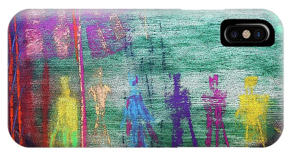 Visions Of Future Beings IPhone Case