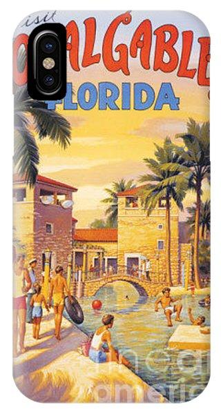 Visit Coral Gables-florida IPhone Case