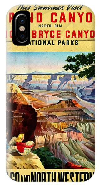 Visit Grand Canyon - Folded IPhone Case