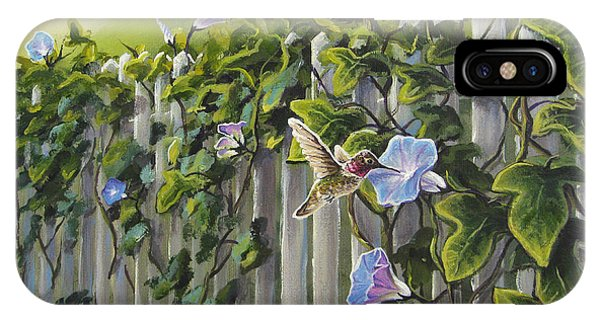 Visiting The Morning Glories IPhone Case