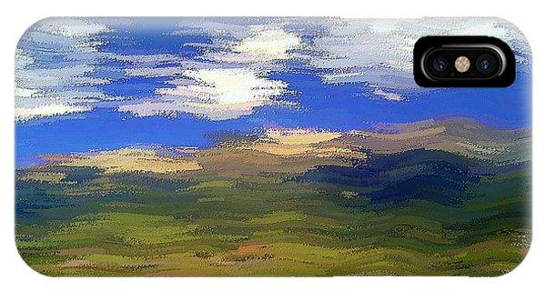 IPhone Case featuring the digital art Vista Hills by David Manlove
