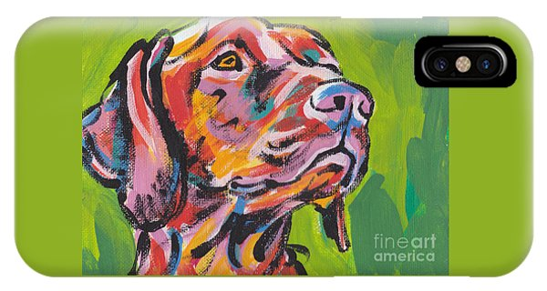 Viva La Vizsla IPhone Case