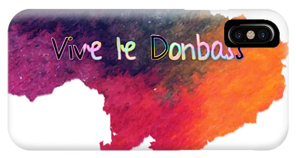 Vive Le Donbass IPhone Case