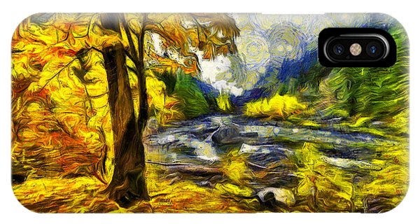 Fall Colors iPhone Case - Vivid Pipeline Trail by Mark Kiver