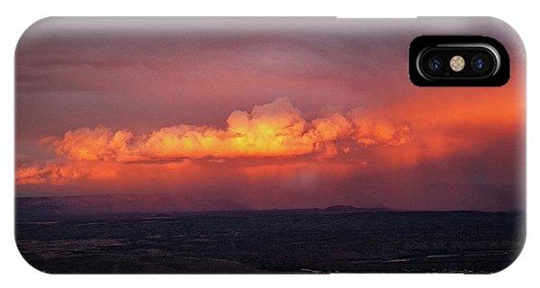 Vivid Verde Valley Sunset IPhone Case