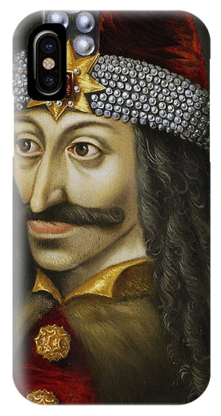 Dracula iPhone Case - Vlad The Impaler by Unknown