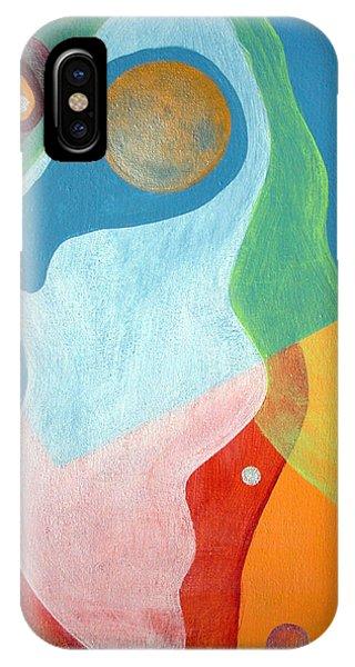 Voile Phone Case by Muriel Dolemieux