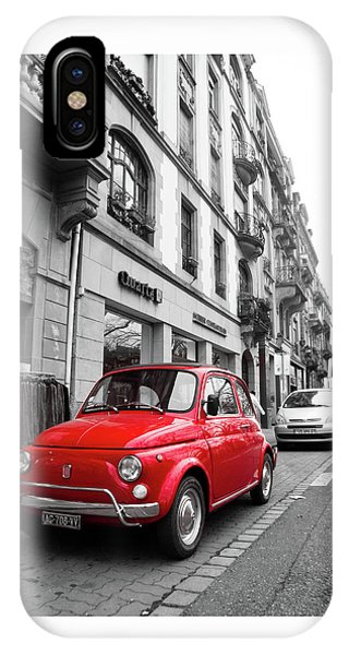 Voiture Rouge IPhone Case