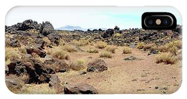 Volcanic Field Panorama IPhone Case