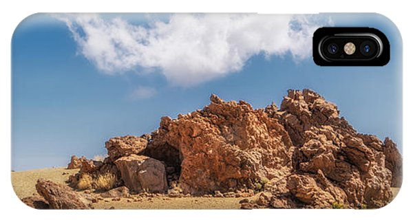IPhone Case featuring the photograph Volcanic Rocks by James Billings