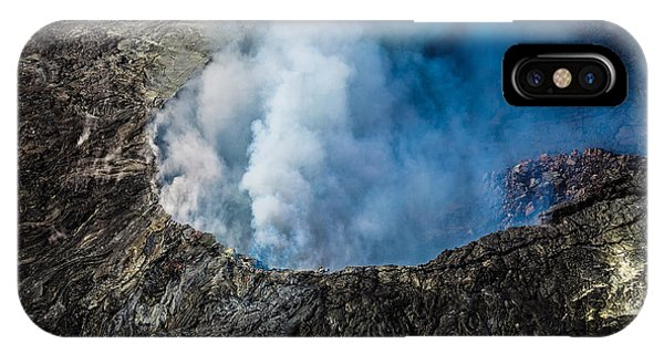 Another View Of The Kalauea Volcano IPhone Case