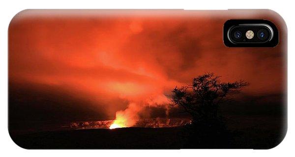 Volcano Under The Mist IPhone Case