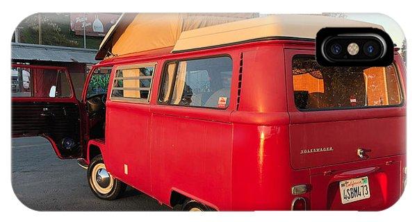 Volkswagen Bus iPhone Case - Volkswagen Bus T2 Westfalia by Jackie Russo
