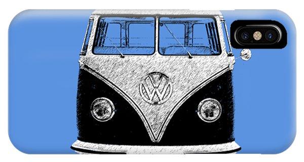 Volkswagen iPhone Case - Volkswagen T1 1963 by Mark Rogan