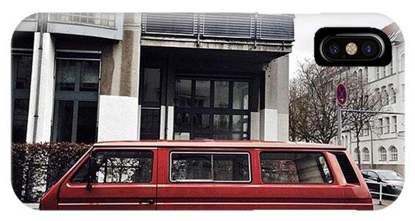 Vw Bus iPhone Case - Volkswagen T3 Bus  #berlin #neukölln by Berlinspotting BrlnSpttng