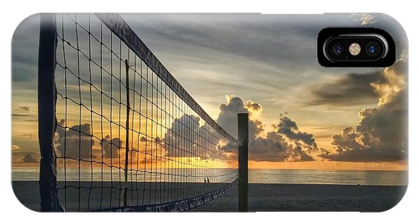 Volleyball Sunrise IPhone Case