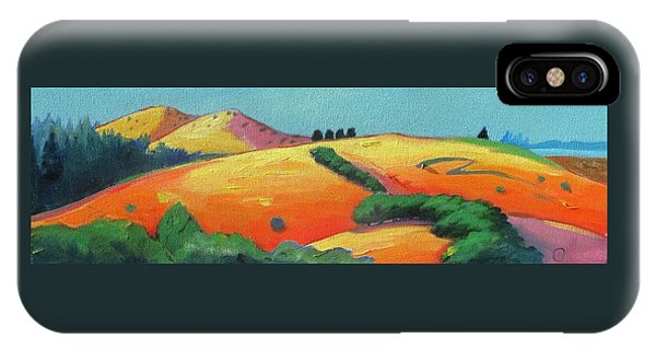 Voluptuous Windy Hill IPhone Case