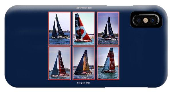 Volvo Ocean Race Newport 2015 IPhone Case