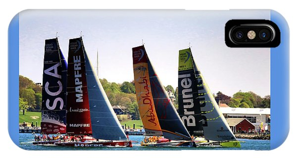 Volvo Ocean Race Newport Ri IPhone Case