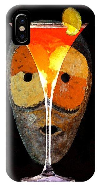 Voodoo iPhone Case - Voodoo Martini by David Lee Thompson