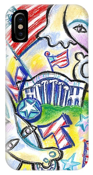 Finance iPhone Case - Voting For Political Party by Leon Zernitsky