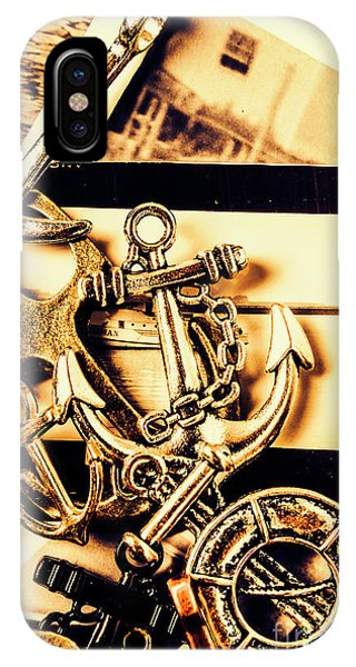 Iron iPhone Case - Voyage In Historical Boating by Jorgo Photography - Wall Art Gallery