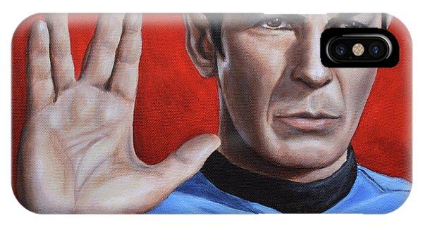 Vulcan Farewell IPhone Case