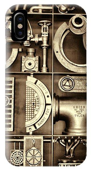 Vulcan Steel Steampunk Ironworks IPhone Case