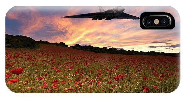 Poppies iPhone Case - Vulcans End by J Biggadike