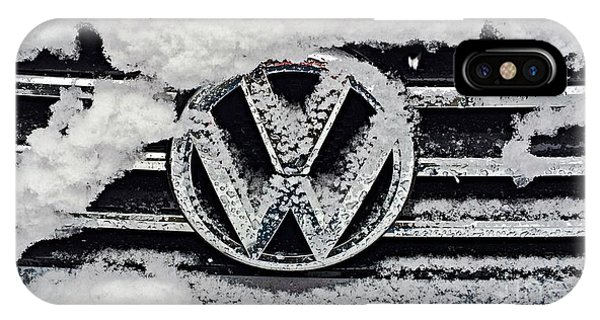 Vw Snow Day IPhone Case