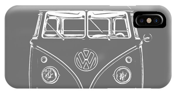 Vw Van Graphic Artwork Tee White IPhone Case
