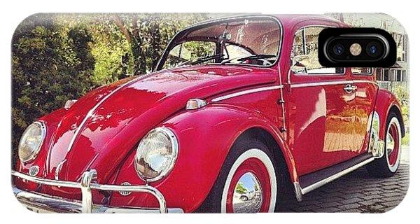 Volkswagen iPhone Case - #vw #volkswagen #kafer #oldtimer by Gergely Maller