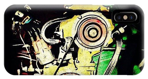 Volkswagen iPhone Case - #vw #volkswagen #multicolor #engine by Exit Fifty-Seven