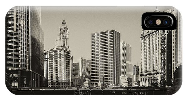 iPhone Case - Wabash Avenue by Andrew Paranavitana