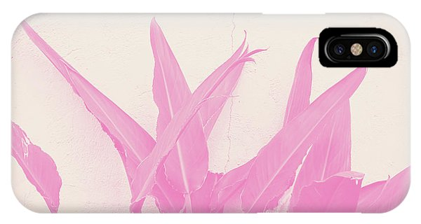 Peach iPhone Case - Wabi Sabi Garden 1- Art By Linda Woods by Linda Woods