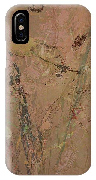 Wabi-sabi Ikebana Original Mashup IPhone Case