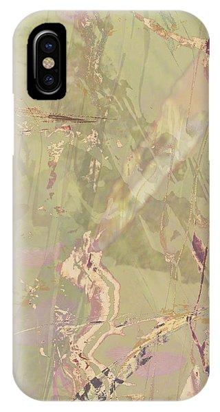 Wabi Sabi Ikebana Revisited Shabby 1 IPhone Case