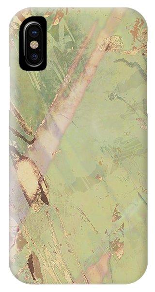Wabi Sabi Ikebana Revisited Shabby 3 IPhone Case