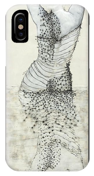 iPhone Case - Wader With Lotus Flower by Andrea Benson