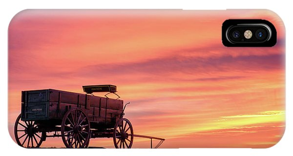 Wagon Afire IPhone Case