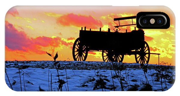 Wagon Hill At Sunset IPhone Case