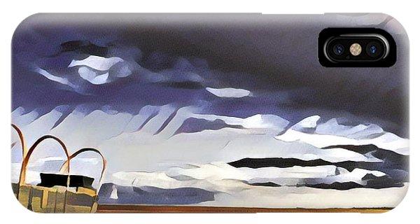 Wagon Train IPhone Case