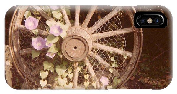 Wagon Wheel Memoir IPhone Case