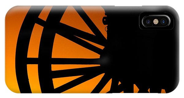Wagon Wheel Sunset IPhone Case