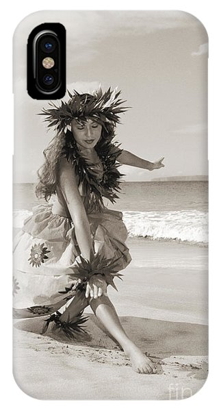 Hawaii iPhone Case - Wahine Hula by Himani - Printscapes