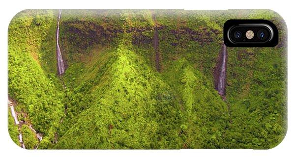 Waialeale Waterfalls IPhone Case