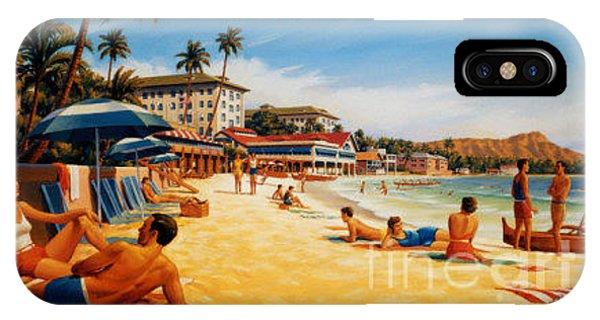 Waikiki Beach IPhone Case